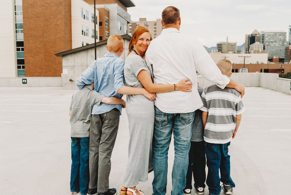 salt lake city urban family session