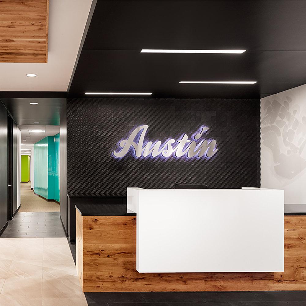 Austin Business Journal  Austin Convention and Visitors Bureau unveils colorful, quirky visitors center.