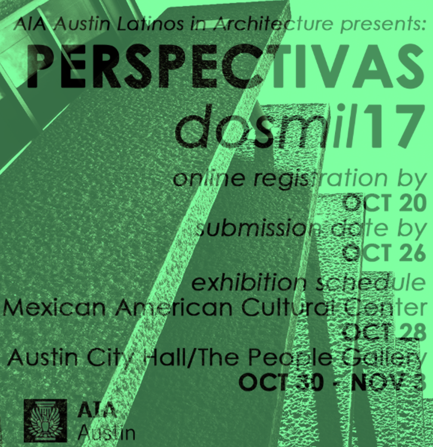 LIA Perspectivas 2017  Founding Principal, Jean Pierre Trou was featured in the national exhibition of Perspectivas dosmil17.
