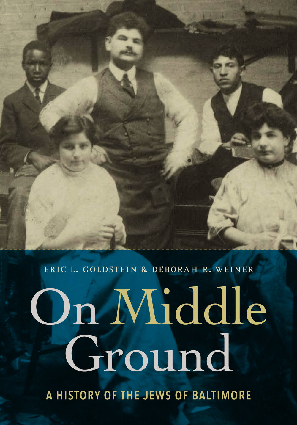 In some ways a history of American Jews in microcosm,  On Middle Ground  also reveals how Baltimore's position between North and South profoundly shaped Jewish life. Not just a Jewish story, the book illuminates both Baltimore and its Jews, showing how each influenced the other.   FINALIST, NATIONAL JEWISH BOOK AWARD IN AMERICAN JEWISH STUDIES, 2018    FIND OUT  MORE . BUY ON  AMAZON .
