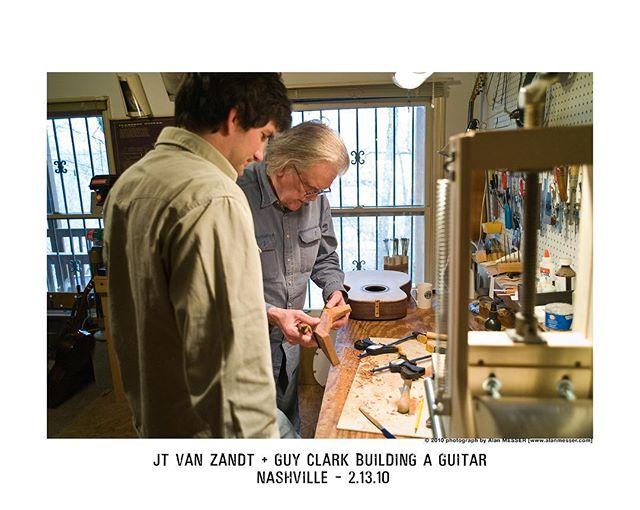 Happy Birthday Guy! Miss you ol' buddy! Ph: Alan Messer #guyclark #happybirthdayguyclark