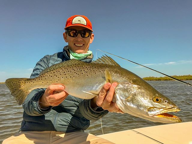 @tgtcu with a nice trout! #flyfishing #flyfishtexas