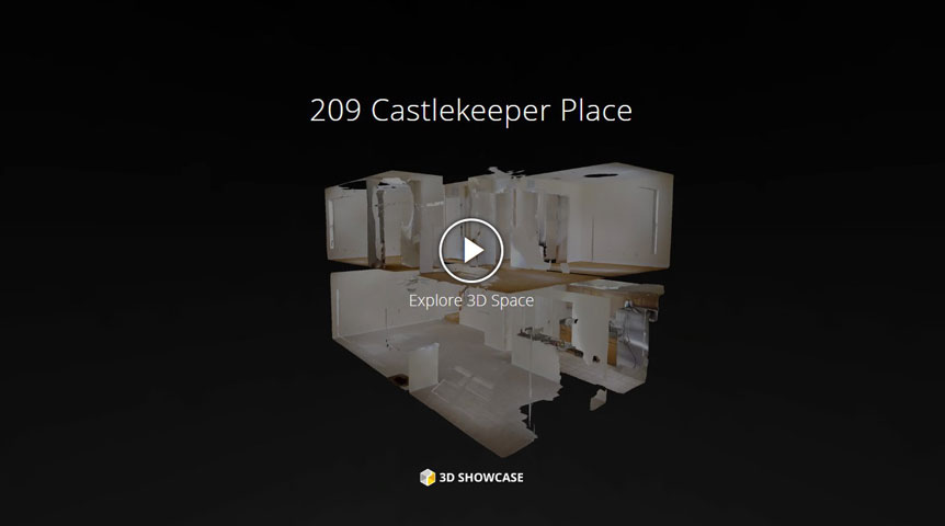 209 Castlekeeper PLace - Move in ready townhome!