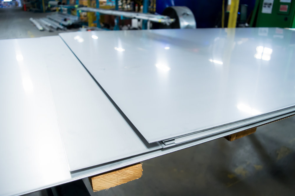 Polished Stainless Steel Plates & Sheets