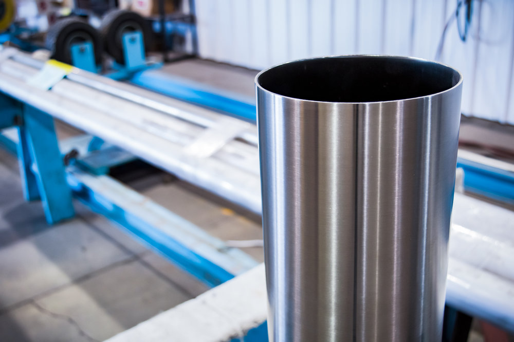 Stainless Steel ID/OD Pipe Polishing Services