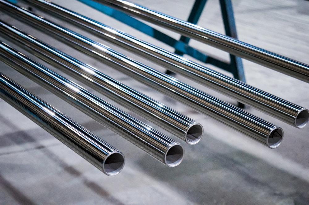 Long Stainless Steel Tube OD Polishing