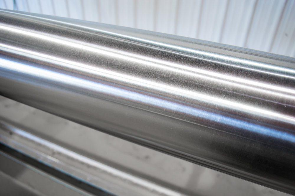 Large Stainless Steel Pipe OD Polishing Services