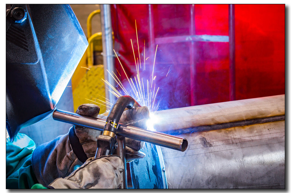 WELDING SERVICES   CMPI 's fabricators include master craftsmen & welders from the heart of the stainless steel industry, Springfield MO.   +  AWS & ASME Certified Welders   + MIG/TIG & ARC Welding Capable   +  ASME Certified Welding Inspector on staff