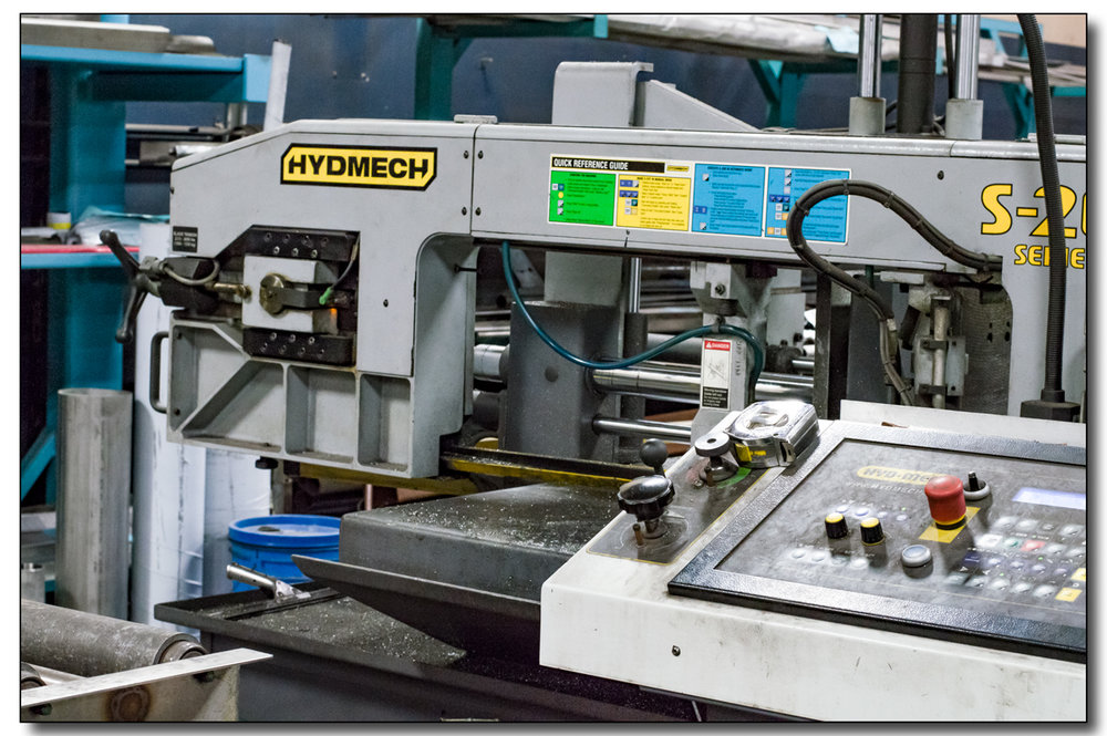 SAWING, FORMING & ROLLING  As a versatile steel fabricator, CMPI is prepared to assist in almost any step of your manufacturing process.   +  Sawing, cutting & deburring of stainless, carbon steel or aluminum   +   Forming, bending & rolling of material   +   Experienced fabricators that save you time & money