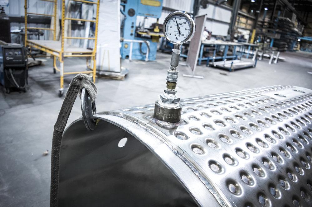 Pressure Vessel & Tank Fabrication