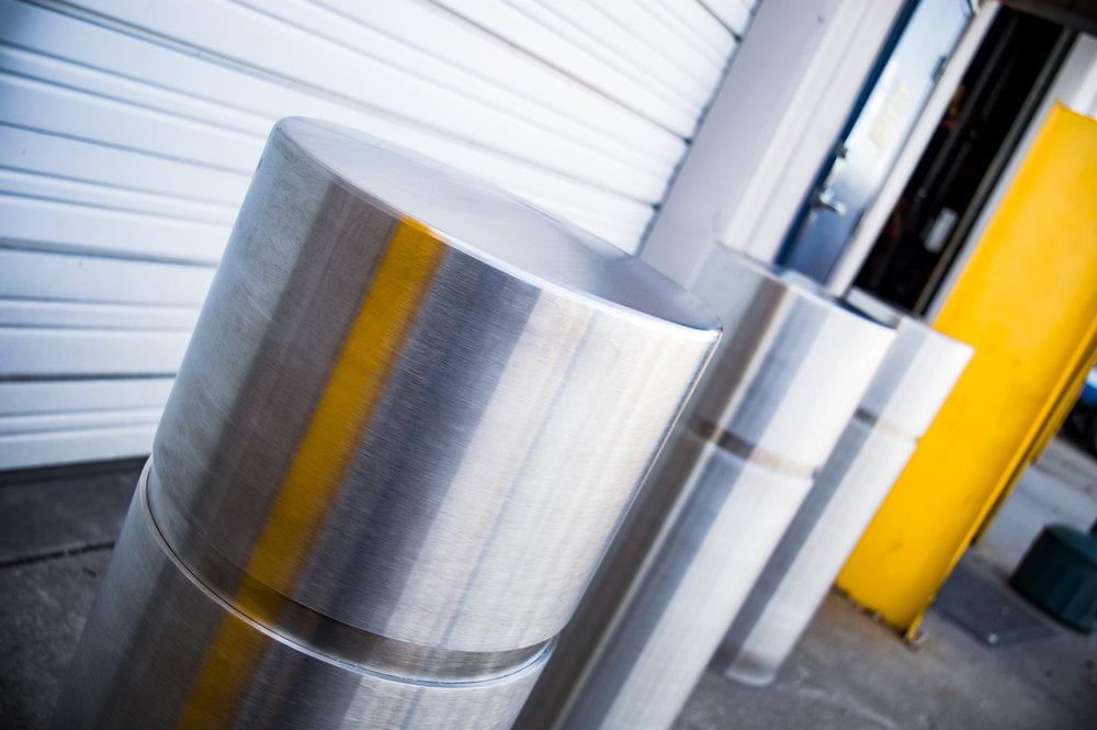 Custom Stainless Steel Bollards, Covers & Sleeves