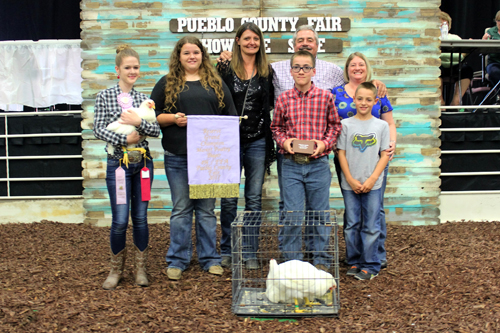 Reserve Grand Champion Market Poultry  Buyer: T&T Electric Price: $1,250.00 Seller: Rachel English