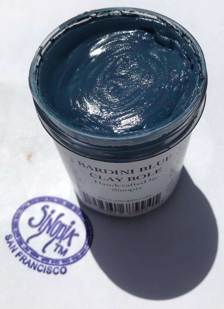 Bardini Blue Sinopia Clay Bole