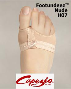 Capezio FootUndeez™ Nude H07