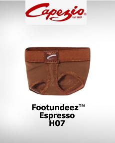 Capezio FootUndeez™ Espresso H07