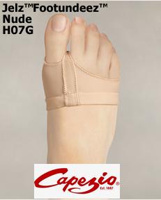 Capezio JELZ™ FootUndeez™ H07G