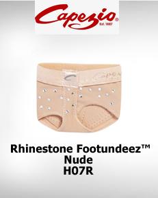 Rhinestone FootUndeez™ H07R