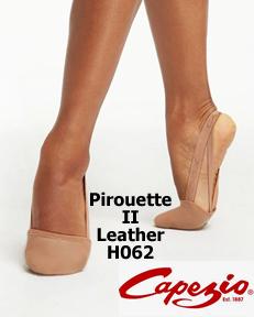 Capezio Leather Pirouette II H062