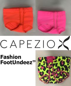 Capezio FootUndeez™ - Neon Fashion