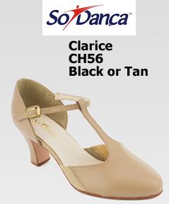 Só Dança Clarice T-Strap Character Shoe CH56