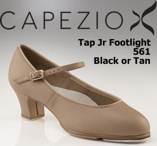 Capezio Tap Jr Footlight Tap Shoe