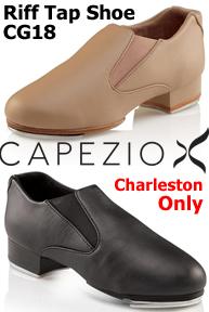 Capezio Riff Slip-On Tap Shoe