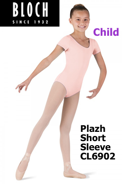 Bloch Plazh Short Sleeve Leo CL6902