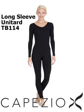 Capezio Long Sleeve Unitard TB114