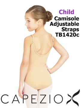 Capezio Cami Leotard with Adjustable Straps TB1420C