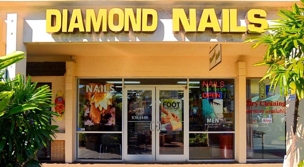 Diamond Nails — Salt Lake Shopping Center