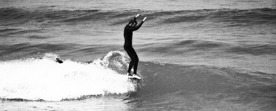 - back in the beginnings of the millennium surfing at my local beach break with friends, not many knew the place back then and we could enjoy perfect uncrowded waves most of the time...