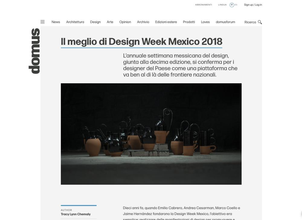 Domus Italia – October 2018