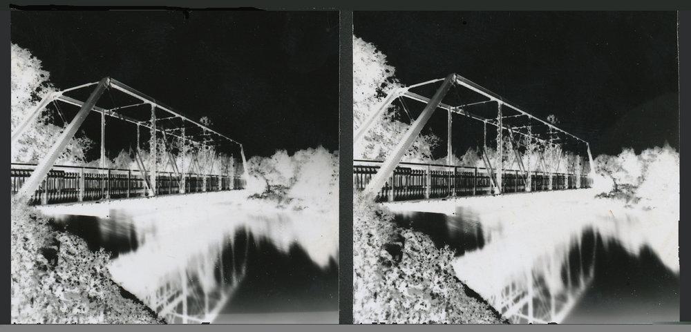 Stereo pinhole photograph, 1997
