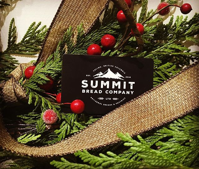 Give the gift of treats this holiday! Gift cards available in store . #haveyousummitedtoday