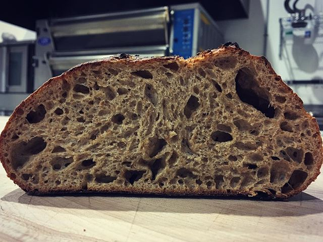 Today's Whole Grain #crumbshot #seeyoutomorrow #soldout