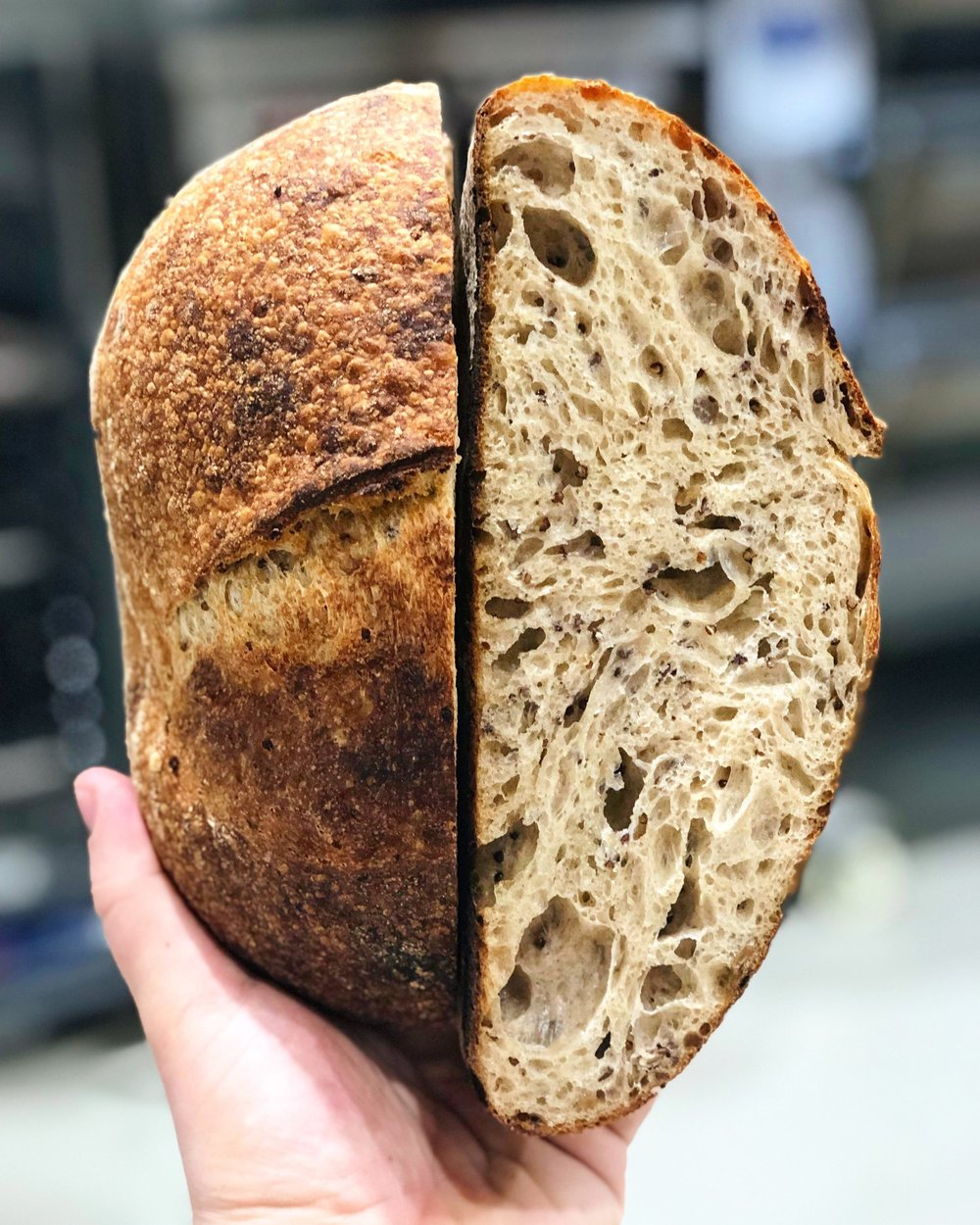 Handcrafted, naturally leavened breads and pastries. Utilizing carefully sourced ingredients, and mindful environmental practices. -