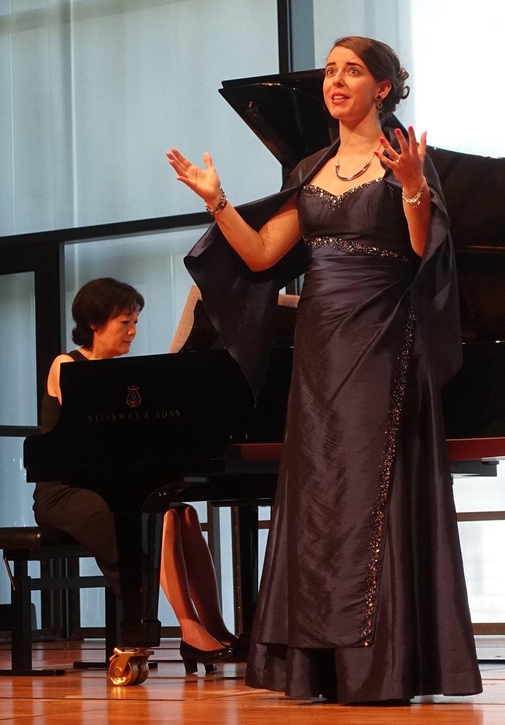 Liedrecital - Mozarteum Salzburg - juni 2017 - © Tamara Duijvestijn