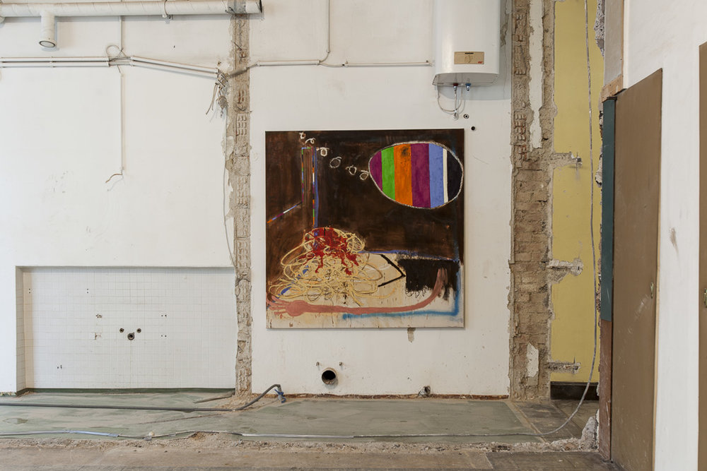 INSTALLATION VIEW feat. MICHA WILLE