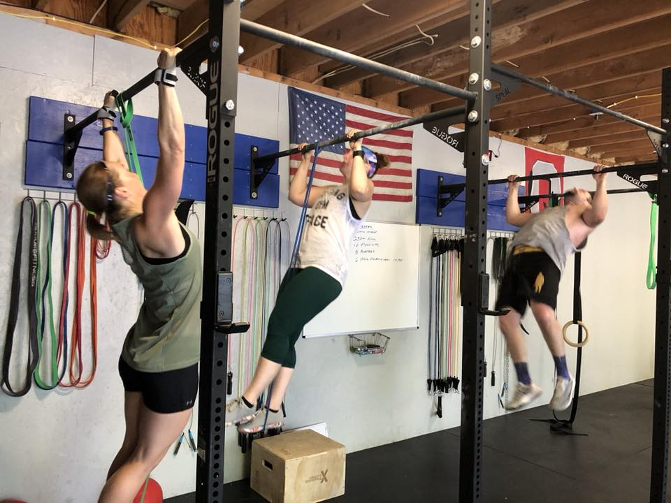 Metcon with pull ups