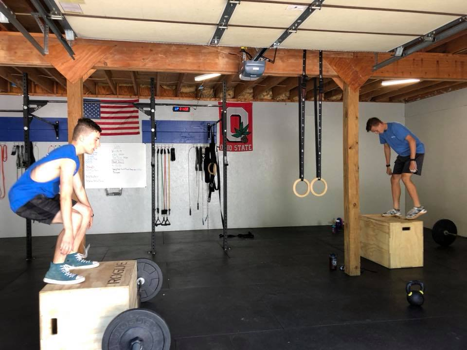 Box Jumps and Barbells