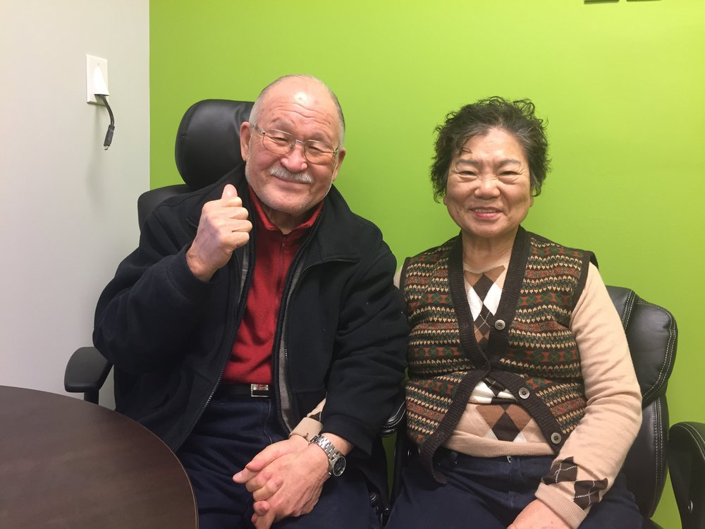 Mr. and Mrs. Park - Recipants of the Gift of Hearing