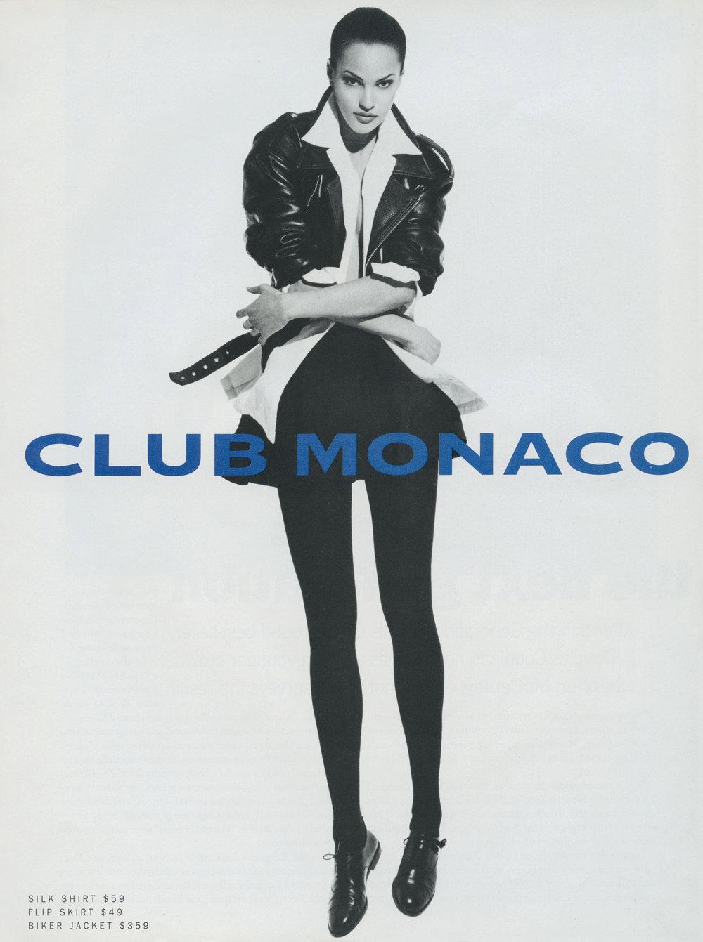 Club Monaco Campaign, Wayne Maser