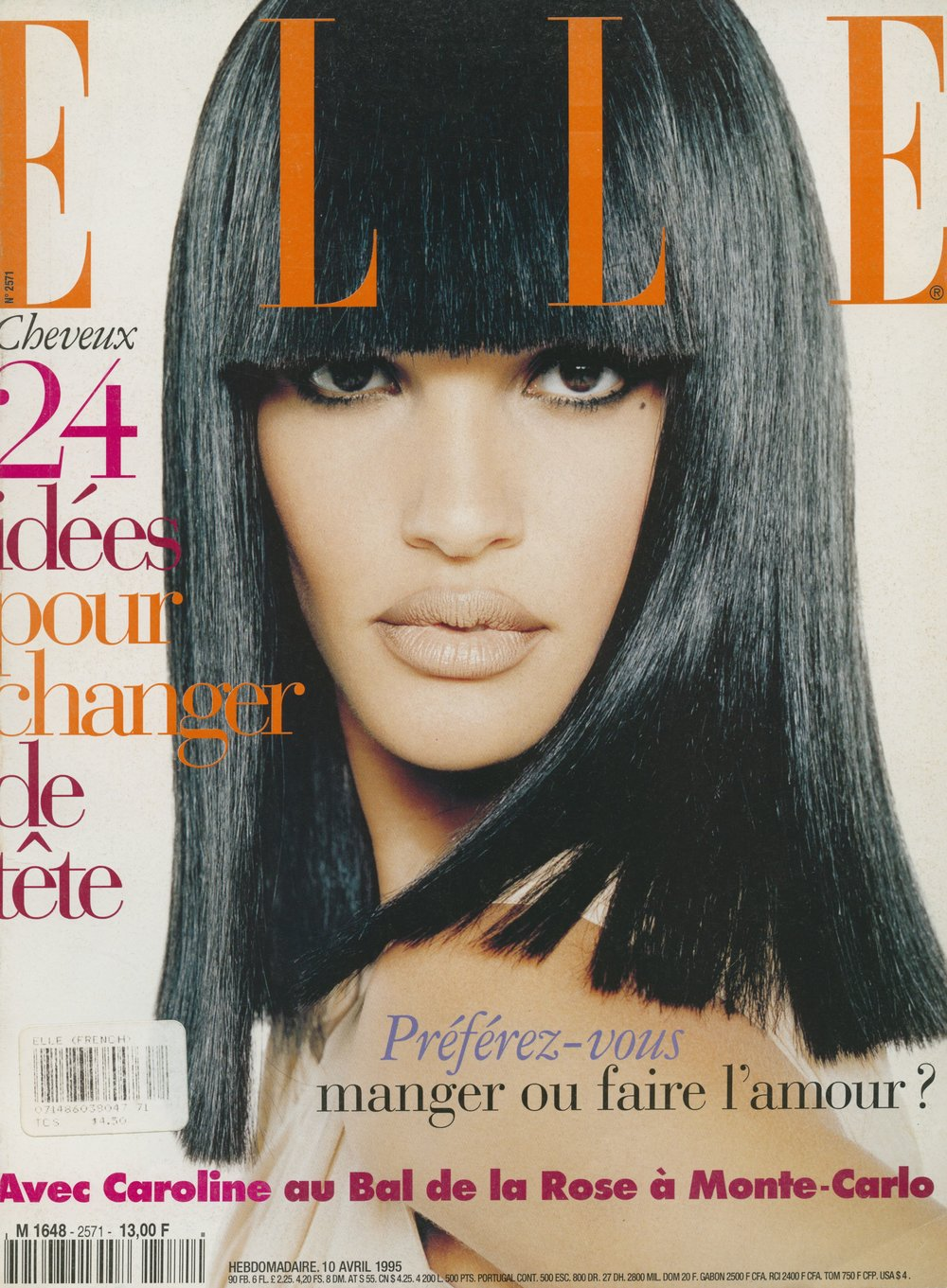 Elle France cover, Christophe Kutner