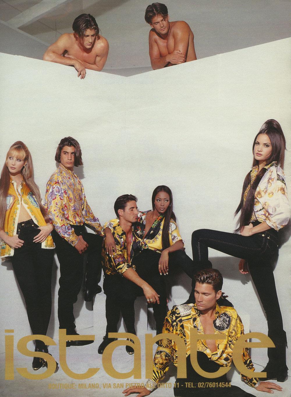 Versace Campaign, Patrick Demarchelier