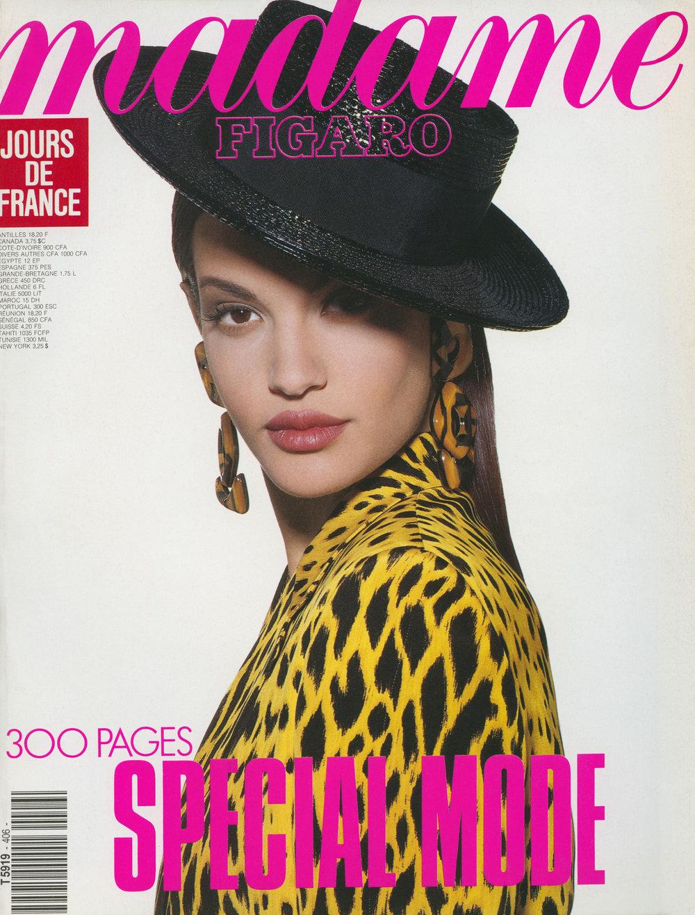Madame Figaro Cover, Tyen