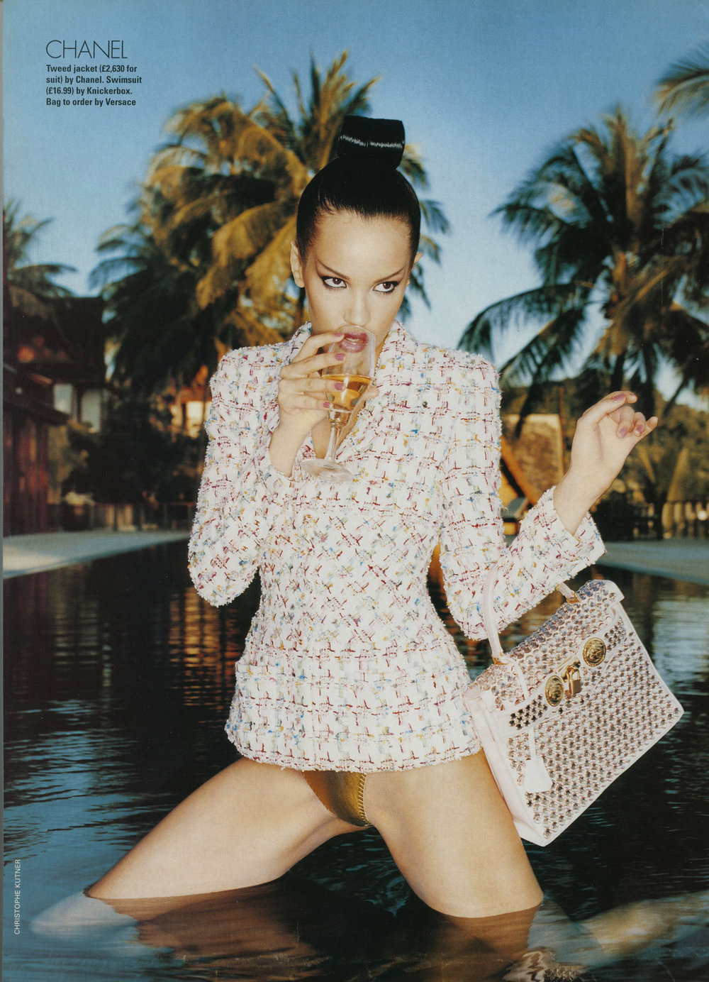 Elle UK Editorial, Christophe Kutner