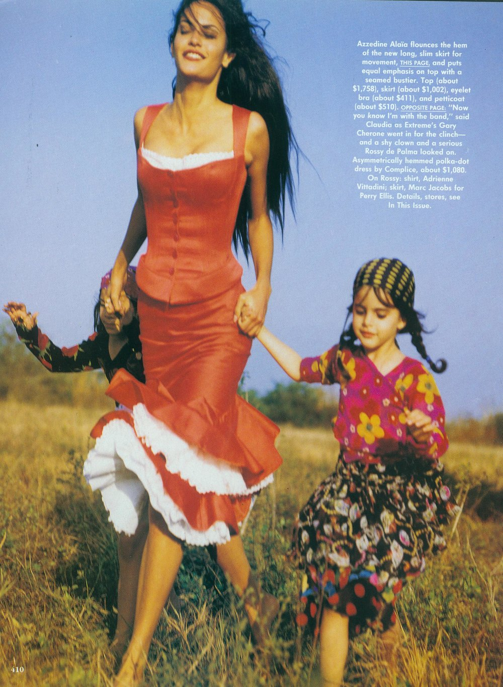 Vogue USA Editorial, Bruce Weber