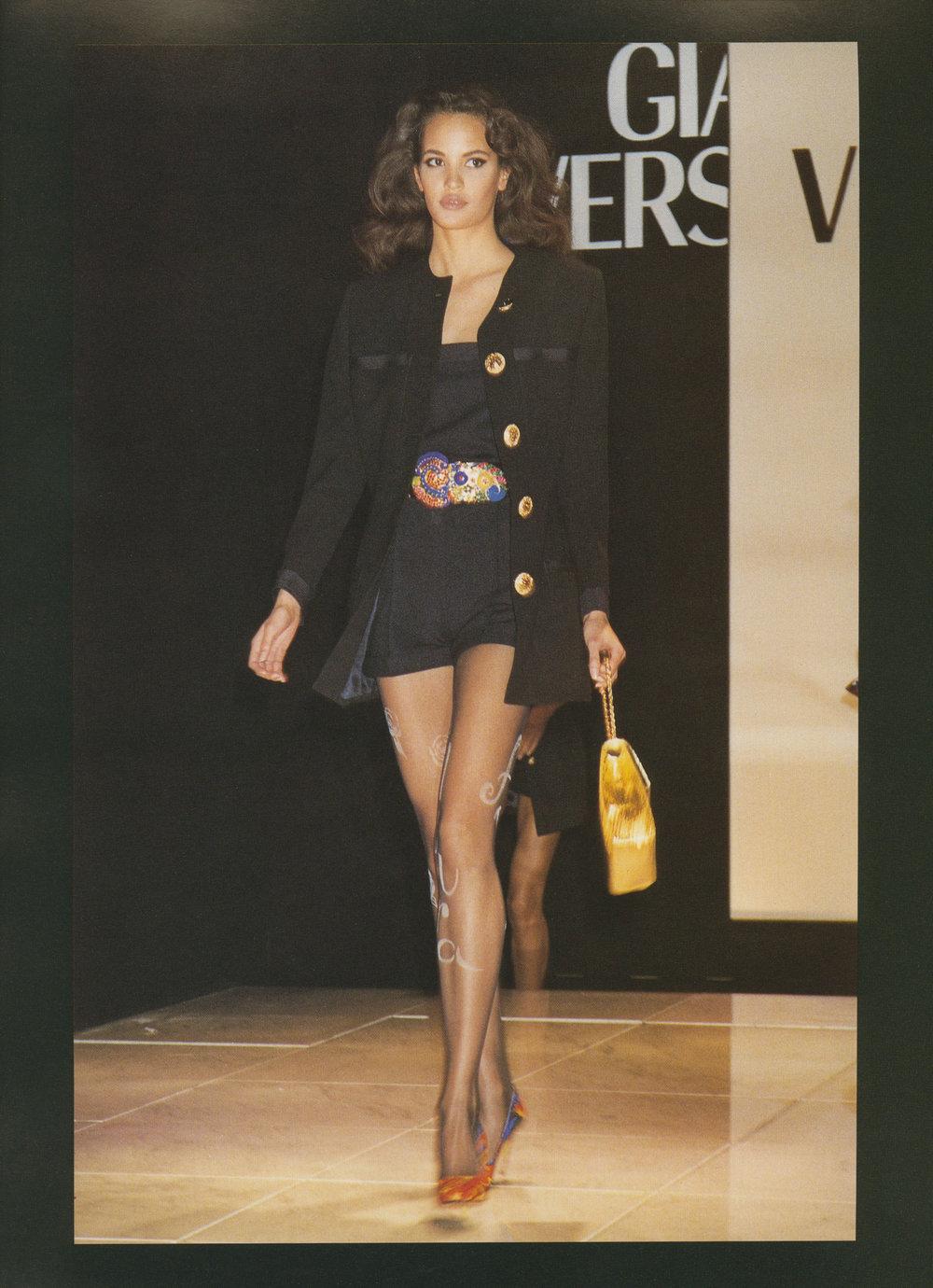 Gianni Versace prêt-a-porter Show, Milan