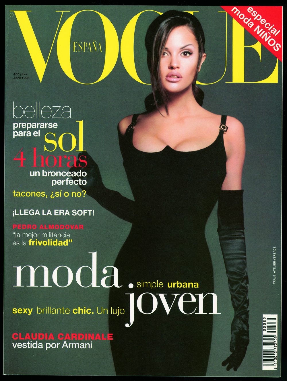 Vogue Spain Cover, Matthew Rolston