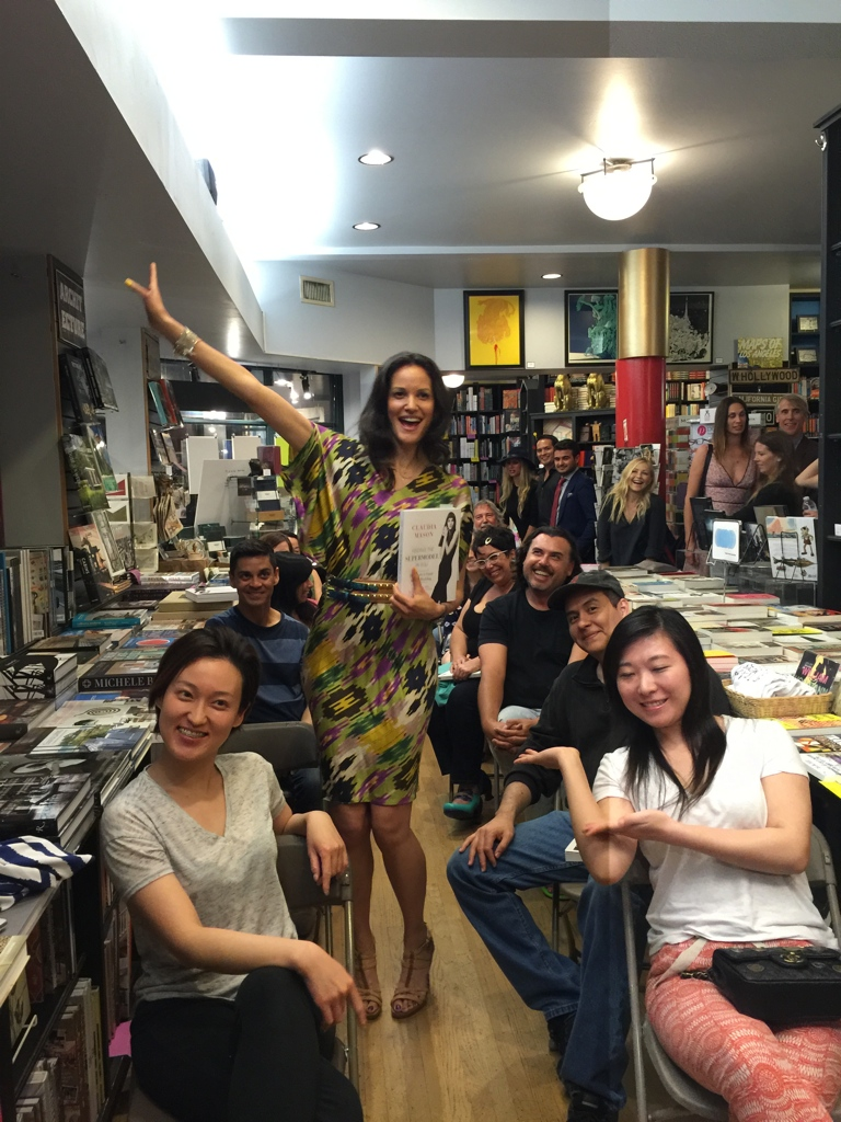 Book Tour, With the Audience After Lecture at Book Soup LA